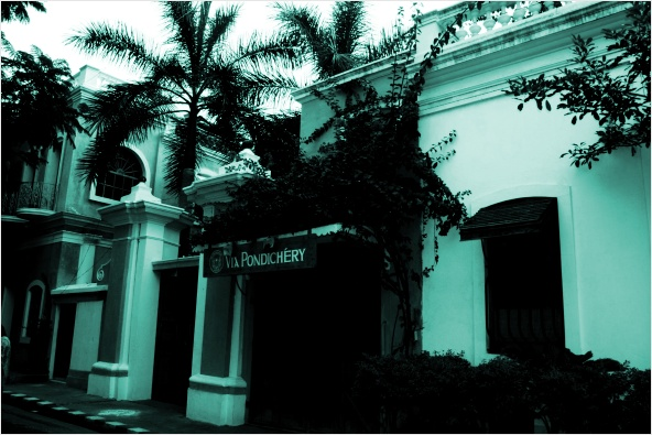 Puducherry colonial house