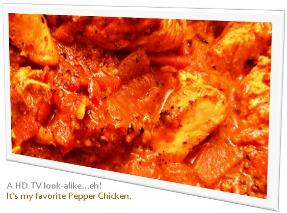 Delicious Pepper Chicken