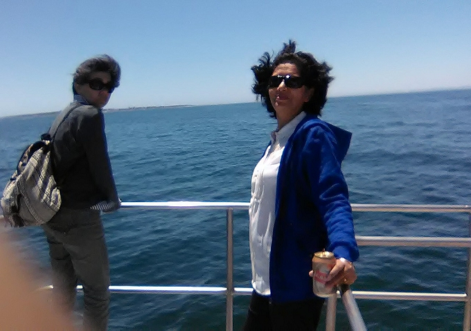 Cruising on Atlantic with Castle Lager