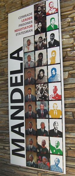 Nelson Mandela - the eminent persona captured at the Apartheid Museum