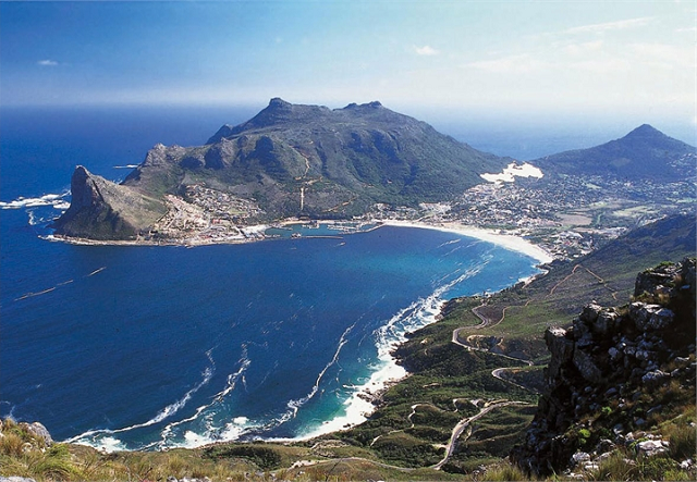 Sentinel above Hout Bay - image courtesy The Colosseum..