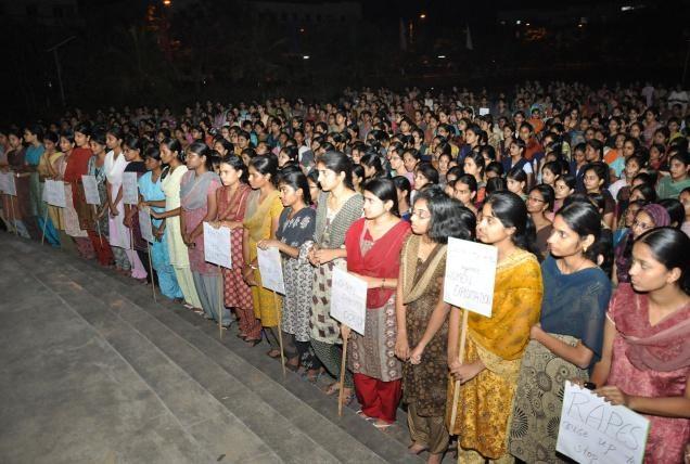 Protests against Delhi rape