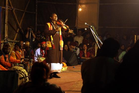 Baul singer in Kolkata