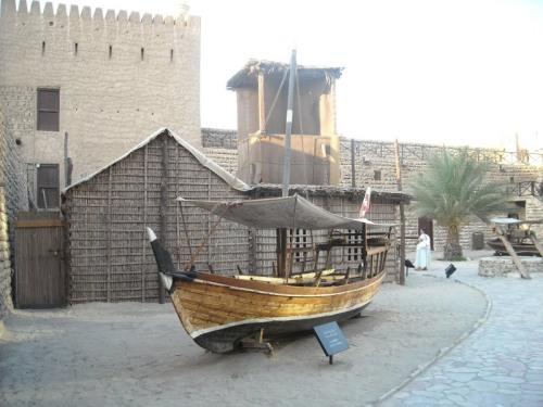 Inside the museum area, the erstwhile Al Fahidi Fort
