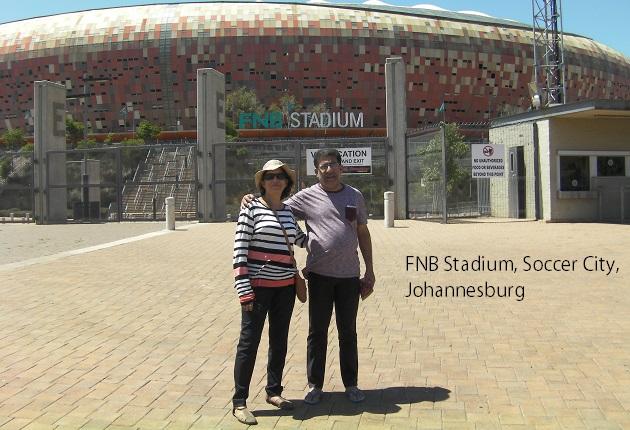 FNB Stadium, Soccer City, Johannesburg